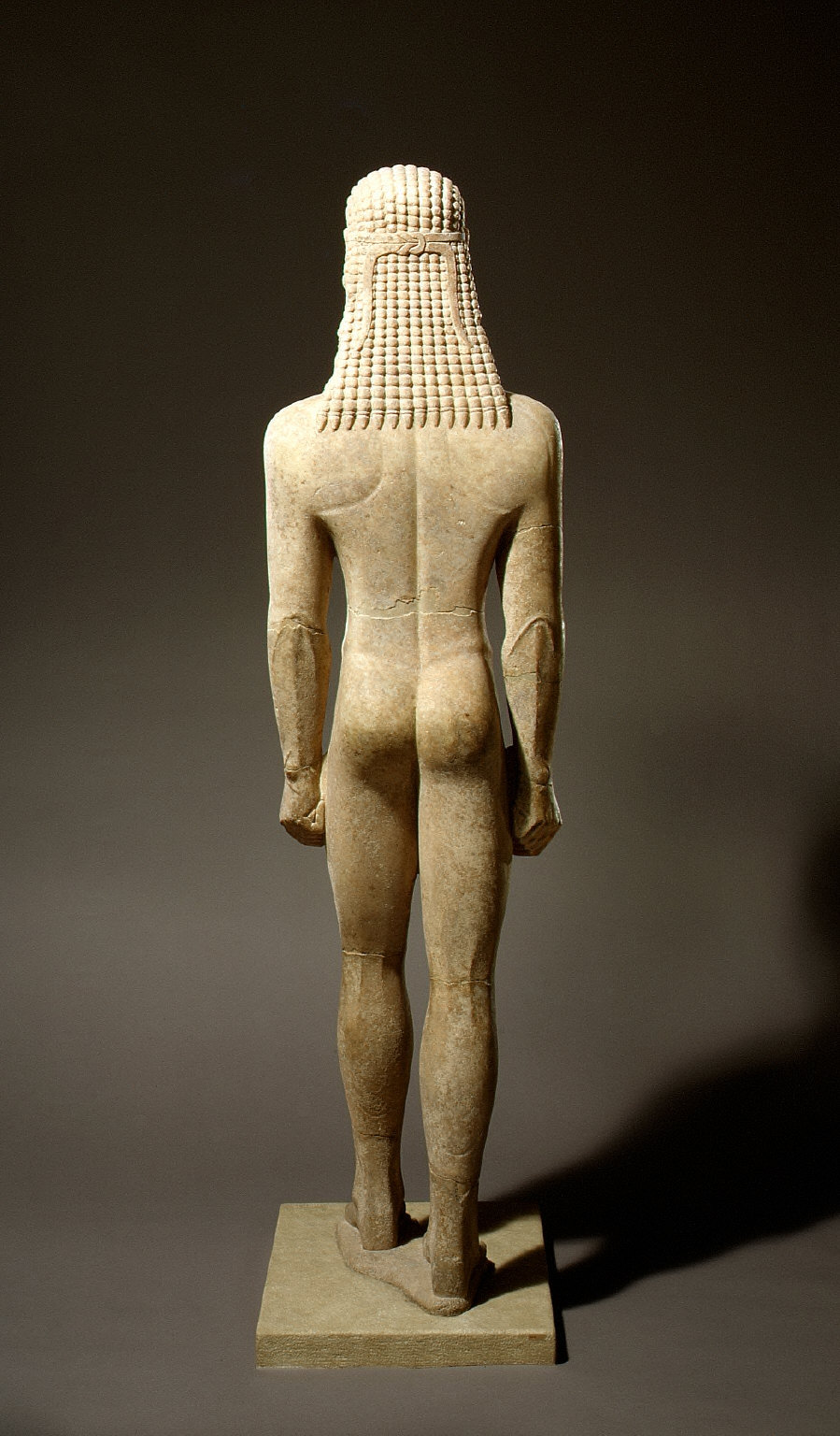 Statue of a kouros (youth)
