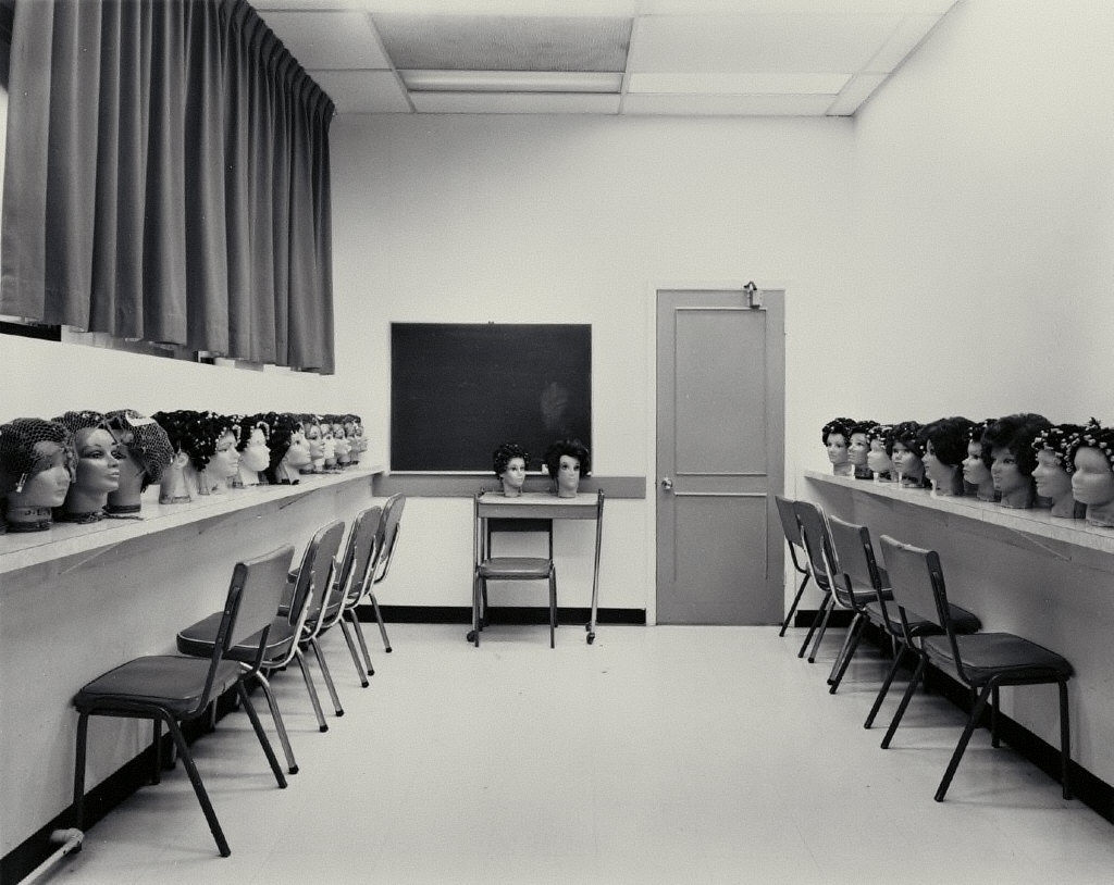 Classroom, Marvel Beauty School, Ottawa