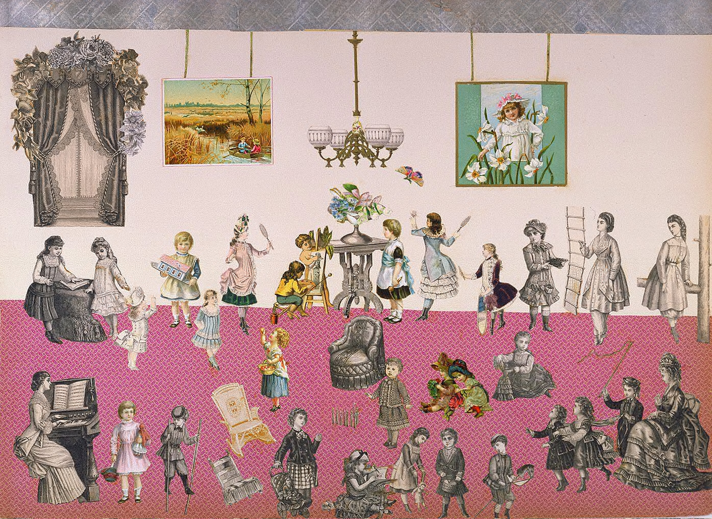 Untitled (Victorian Collage)