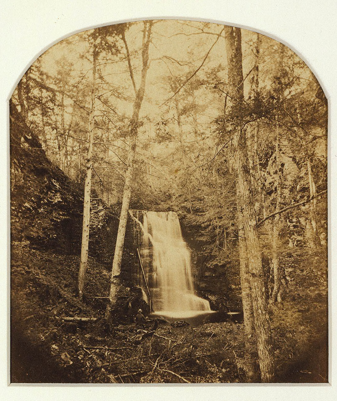 Upper Falls of Pond Run, Pike County, Pennsylvania