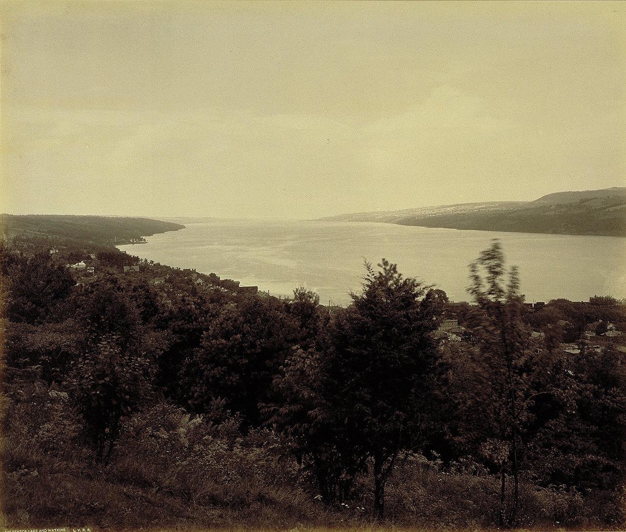 Seneca Lake and Watkins Glen, for the Lehigh Valley Railroad