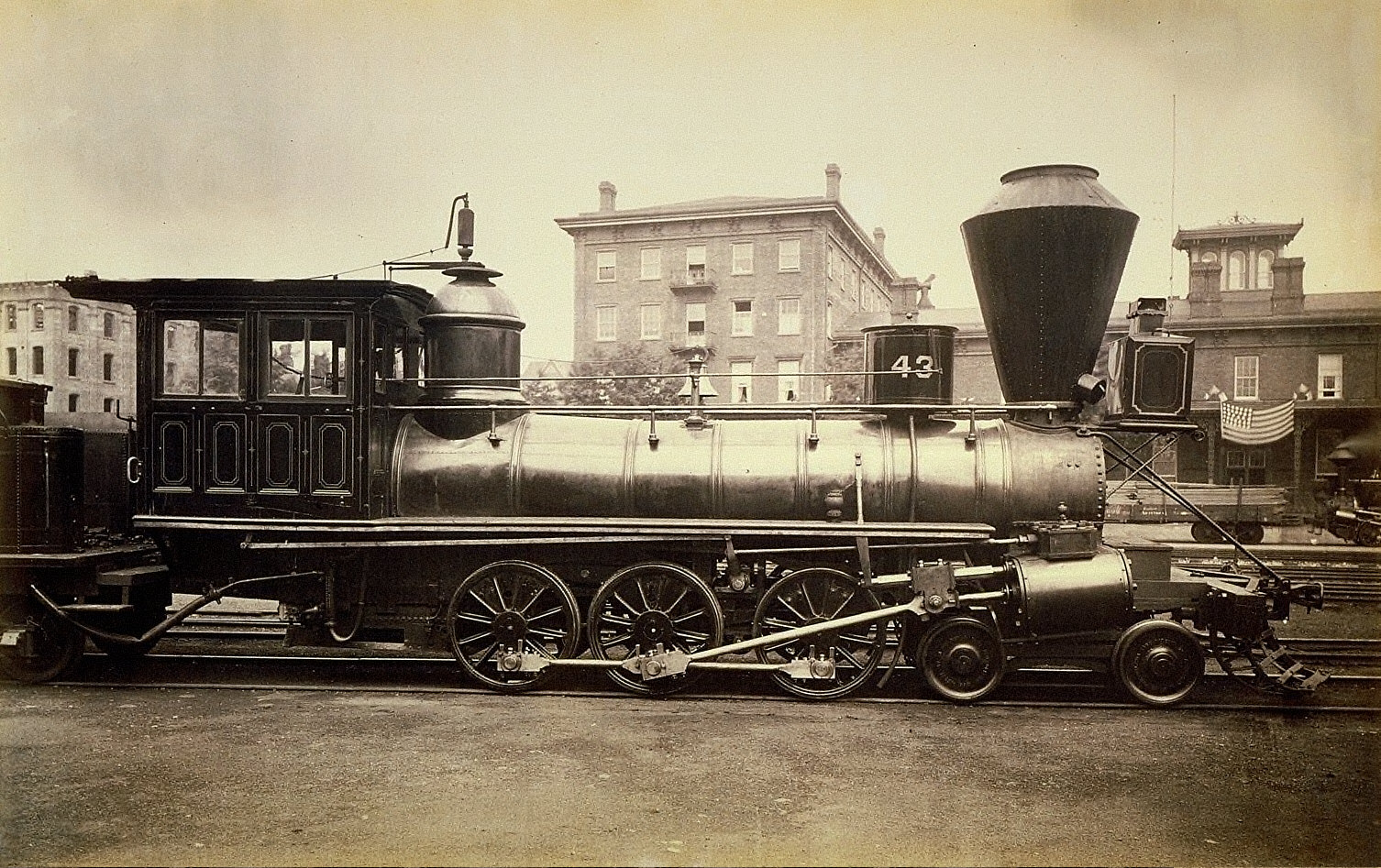 Pennsylvania Railroad Locomotive at the Altoona Repair Facility