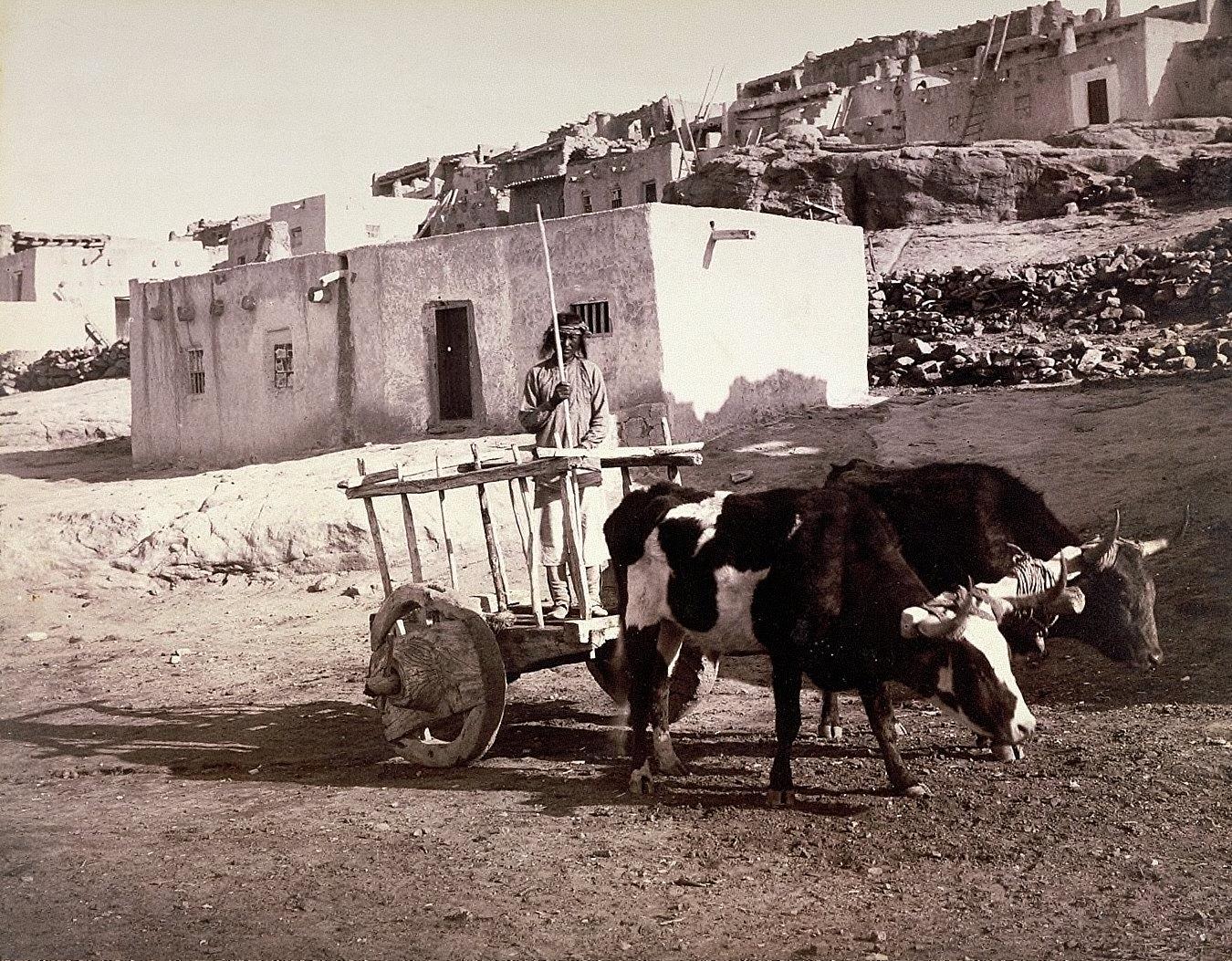 The Old Carreta, Laguna, New Mexico