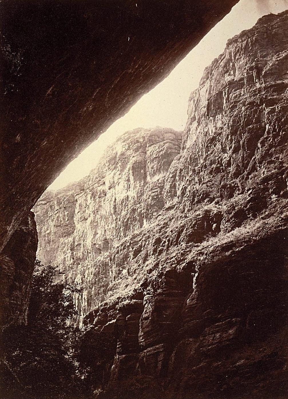 Canon of Kanab Wash, Colorado River, Looking South (Wheeler Survey)