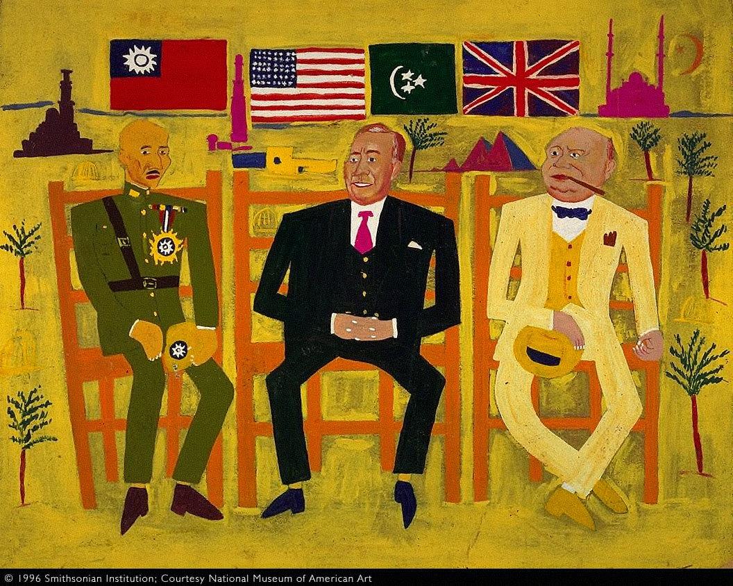 Three Allies in Cairo
