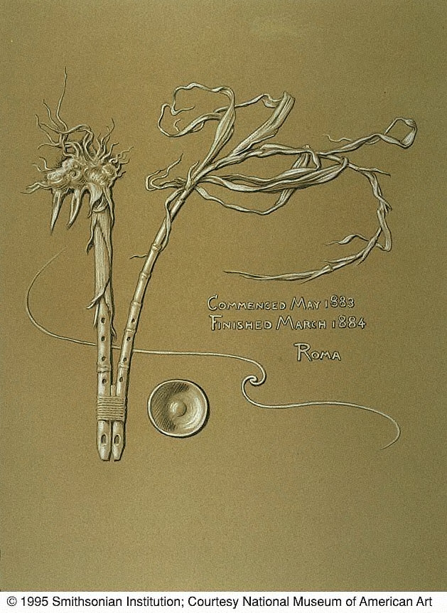 (Illustration for Rubáiyát of Omar Khayyám) Artist's Signature
