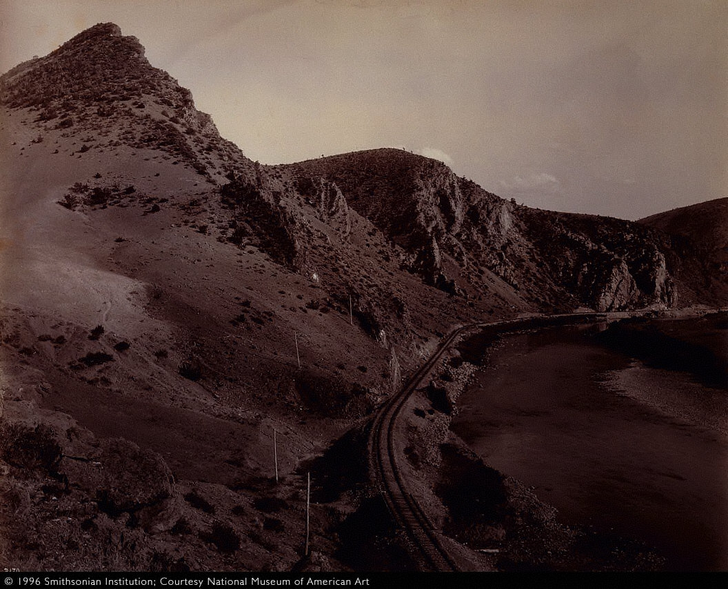 East Entrance, Jefferson Canyon, for the Northern Pacific Railroad