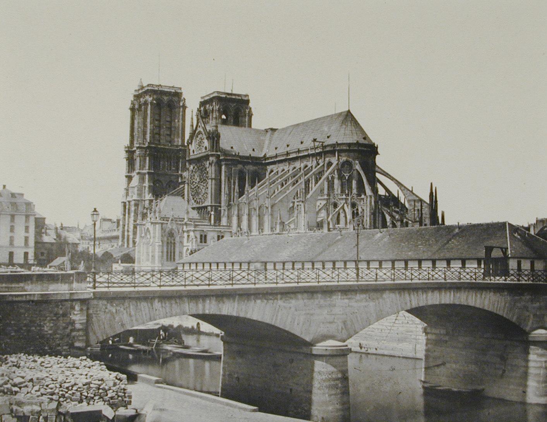 Abside de Notre Dame, a Paris