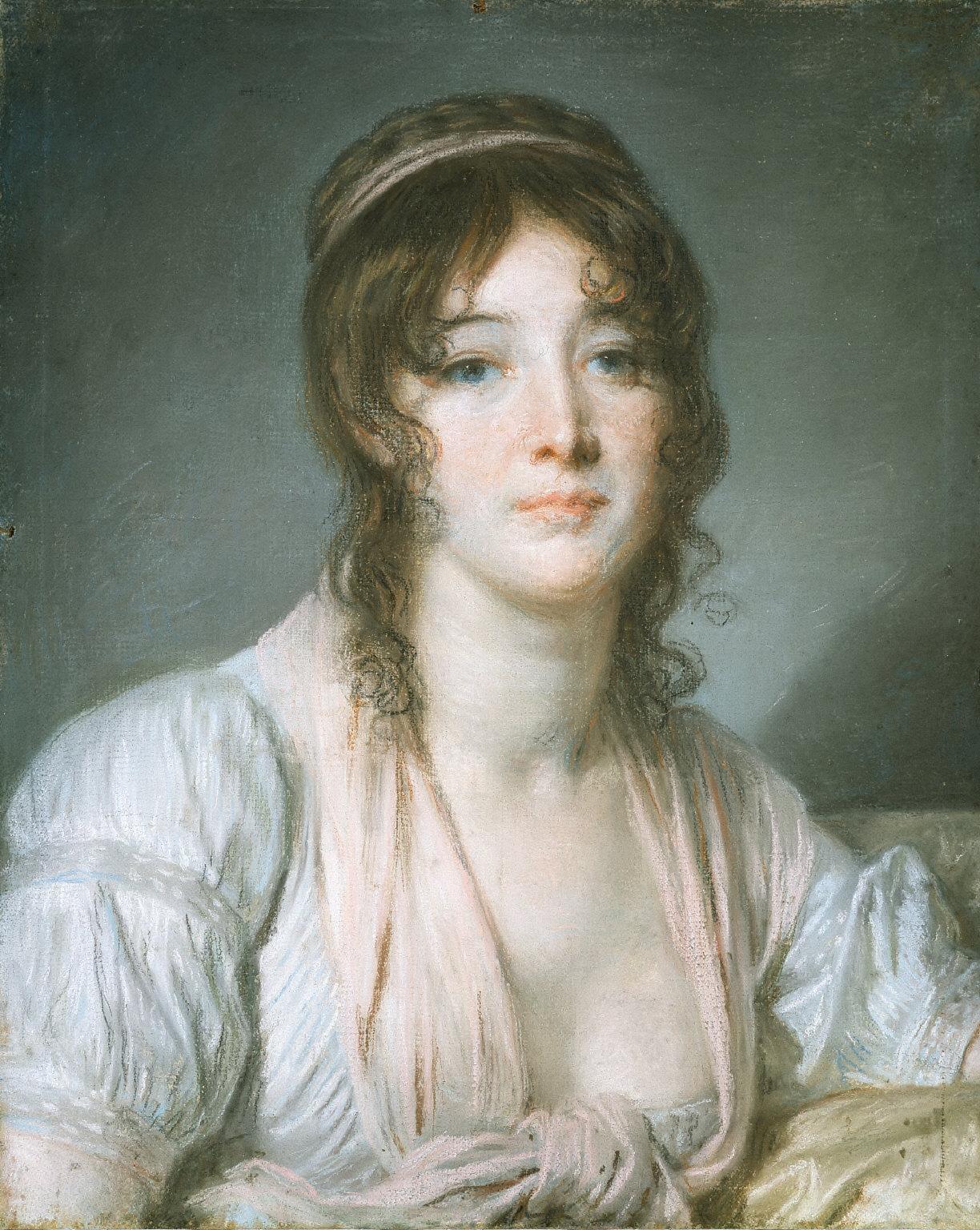 Portrait of Madame Baptiste Aîné