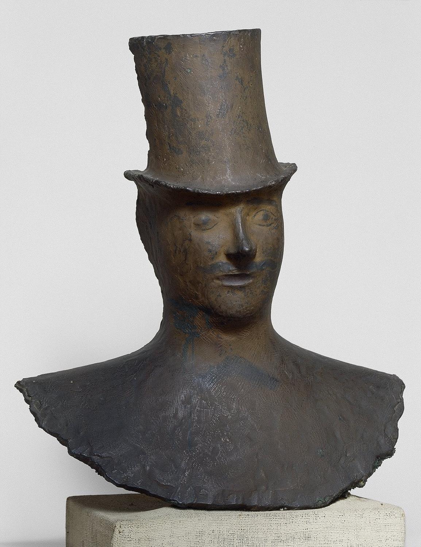 Man's Head in Top Hat