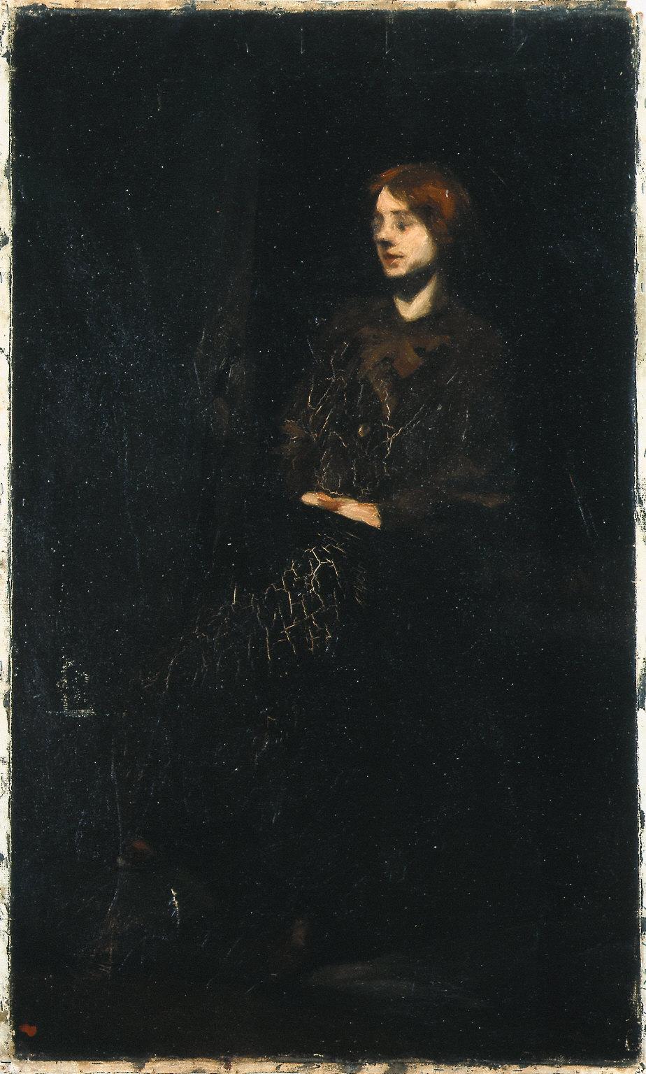 (Portrait of Marion Hopper)