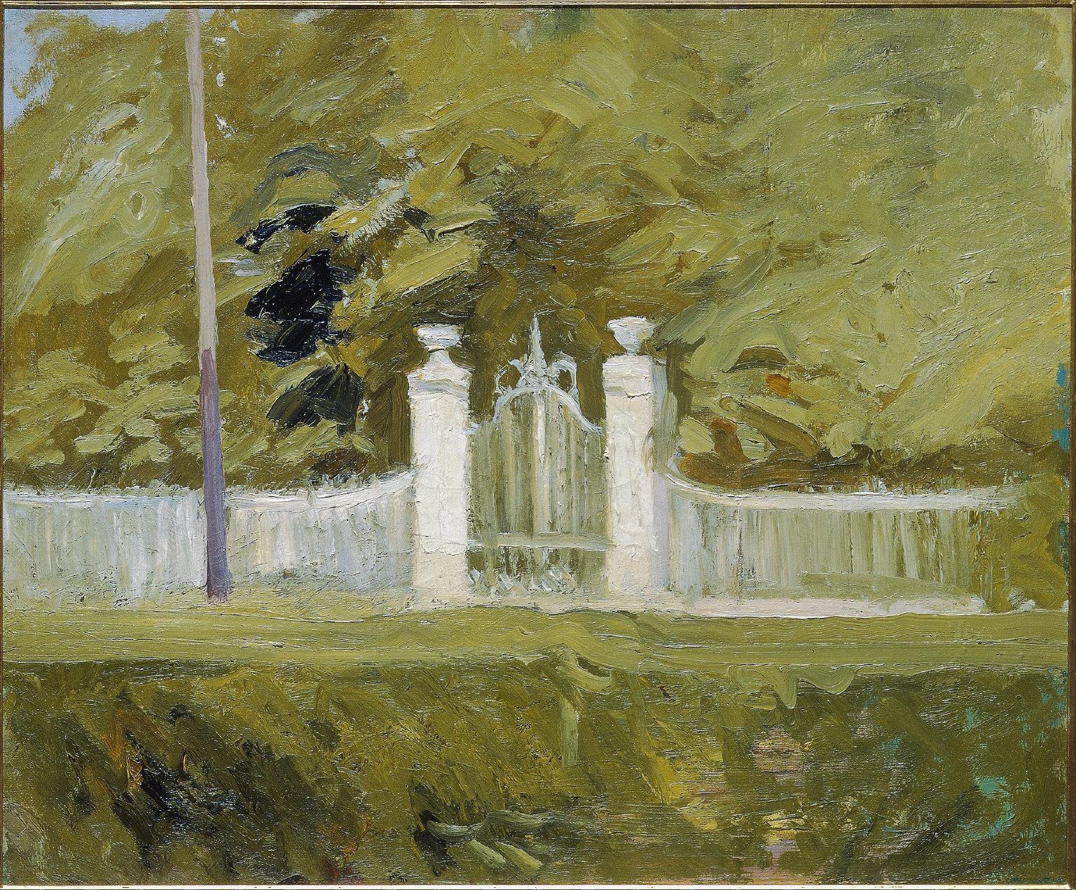 Gateway and Fence, Saint-Cloud