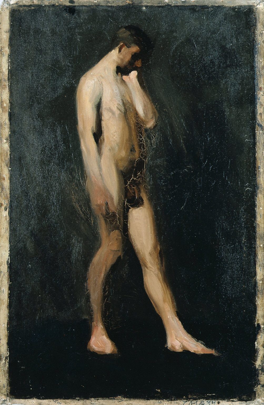 (Standing Male Nude)
