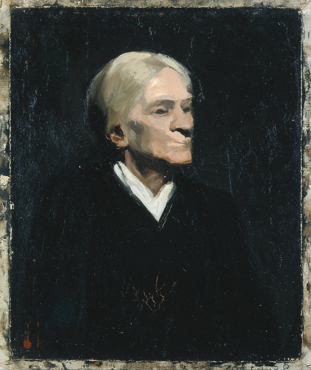 (Portrait of an Old Woman)