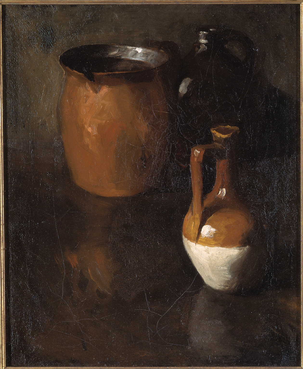 (Still Life with Earthenware Jug)