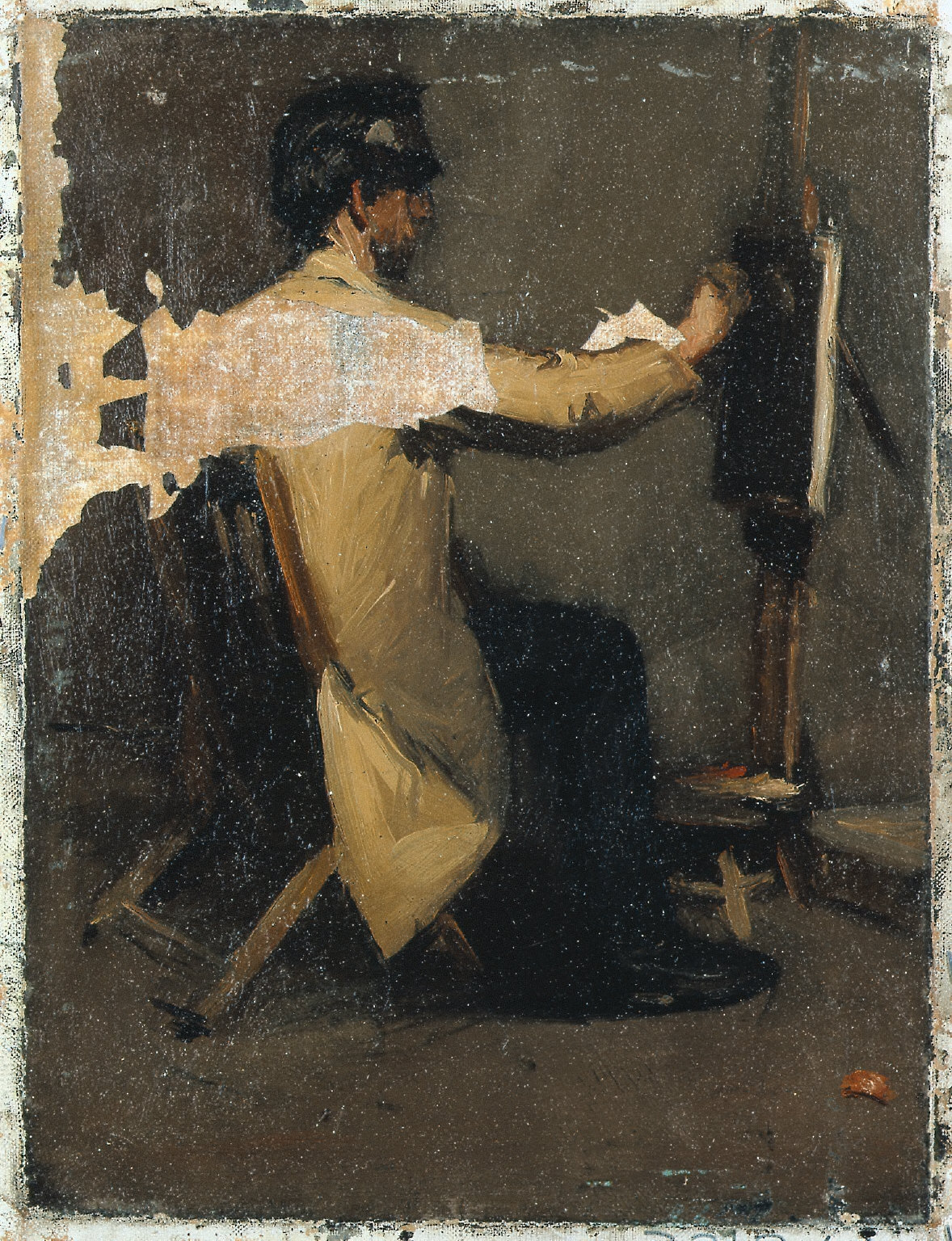 (Painter at Easel)