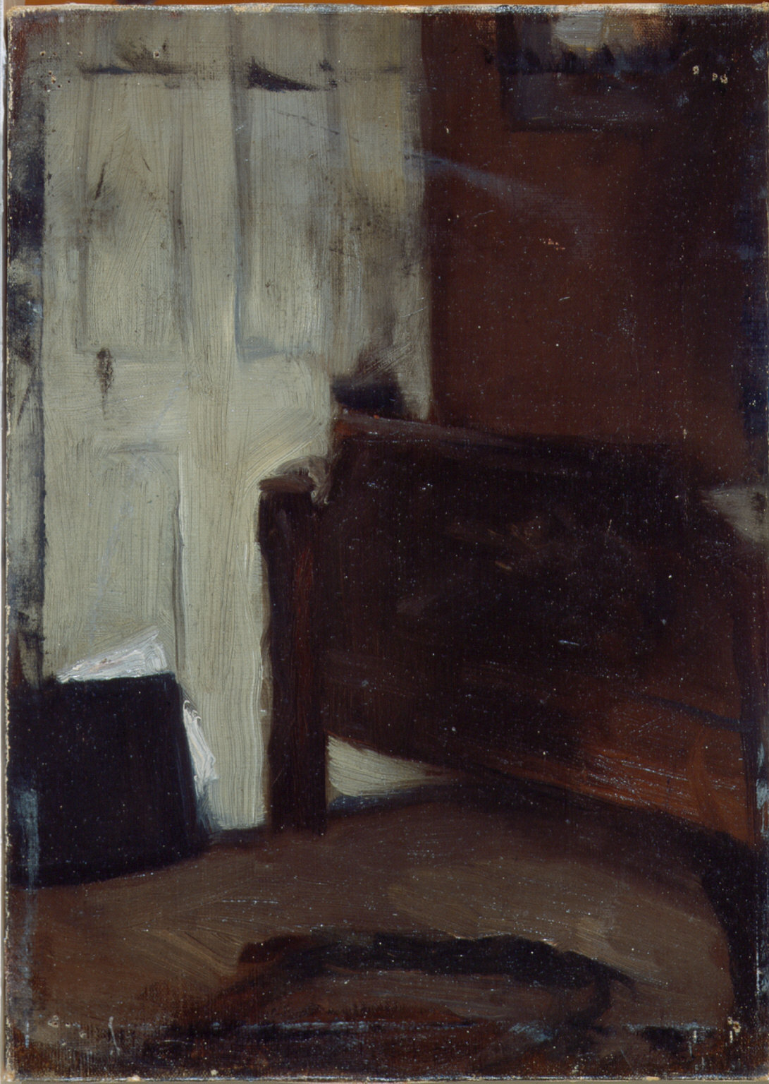 (The Artist's Bedroom, Nyack)