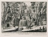 """""""View and prospect of the great water theater of the Villa Aldobrandini Belvedere at Frascati"""" (Plate 6)"""