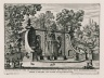 """""""Other fountain slightly above the fountain adjacent to the water theater of the Villa Aldobrandini at Frascati, with water tricks on the stairs"""" (Plate 10)"""