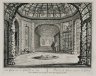 """""""View of the grotto from across the gallery"""" (Plate 23)"""
