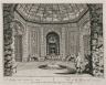 """""""View of the grotto from the front"""" (Plate 24)"""