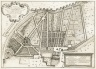 """""""Plan of the garden of his excellence Prince Ludovisi at the Porta Pinciana"""" (Plate 12)"""