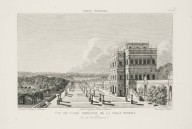 """View of the casino of the Villa Pamphili from the parterre side"" (Plate 16)"