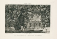 """View of the grotto of the gardens of the Villa Pamphili"" (Plate 17)"