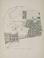 """General plan of the Villa Borghese and its gardens"" (Plate 21)"