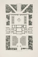 """General plan of the Casino nobile of the Villa Borghese and the surrounding gardens"" (Plate 22)"