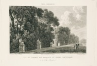 """View of the entrance to the bosco of the private garden of the Villa Borghese"" (Plate 25)"