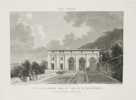 """View of the great loggia of the casino of the Villa Madama captured from the parterre on the terrace"" (Plate 42)"