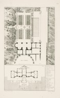 """Plans of the remains of the Villa Madama and the Villa Sachetti"" (Plate 40)"
