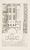 """Plans of the remains of the Villa Madama and the Villa Sachetti"" (Plate 40)"