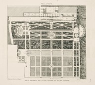 """General plan of the Villa d'Este and its gardens"" (Plate 58)"