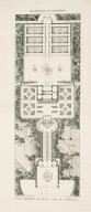 """General plan of the small casino at Caprarola"" (Plate 73)"