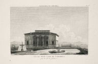 """""""View of the small casino at Caprarola, captured from the garden side"""" (Plate 75)"""