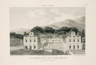 """General view of the Villa Lante at Bagnaia, captured from the entrance side"" (Plate 68)"