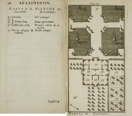 [Plan of the Laurentian Villa] (Plate II)