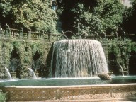 Oval fountain