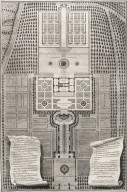 """""""Geometrical plan of the casino and great gardens of the royal palace of Caprarola"""""""