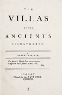 """Villas of the ancients illustrated"""