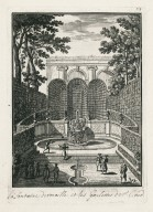 """The rocaille fountain and water channels of Saint-Cloud"" (Plate 73)"