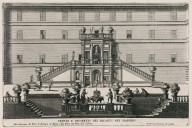"""View and perspective of the palace from the garden"" (Plate 4)"