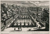 """View of the Fish pools and the water tricks in the Lower garden"" (Plate 18)"