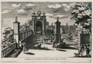 """Fountain of Venus located on the level of the Water organ"" (Plate 22)"