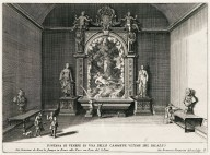 """Fountain of Venus in one of the last rooms of the palace"" (Plate 6)"