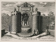 """Fountain of the tower in the garden of the Belvedere in the Papal palace"" (Fig. 4)"