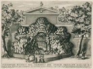 """Rustic fountain in the garden of the Borghese prince [Villa Borghese]"" (Fig. 14)"
