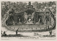 """Fountain called the rock in the garden of the Papal palace in the Vatican"" (Fig. 3)"